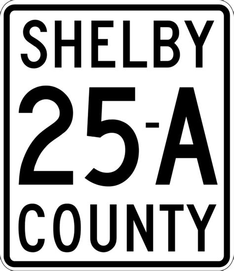 Shelby County Search File Shelby County Route 25a Oh Svg
