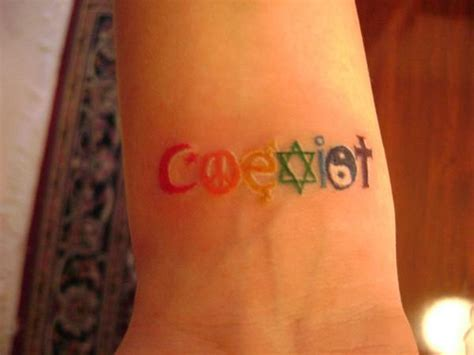 coexist tattoo designs 3951224827 f0d1d292a2 jpg