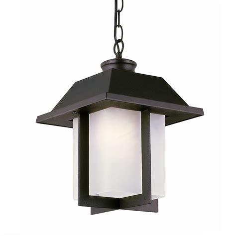 Outdoor Swag Lights Transglobe Lighting Pagoda Cap 1 Light Outdoor Hanging Lantern In Black L Brilliant Source Lighting