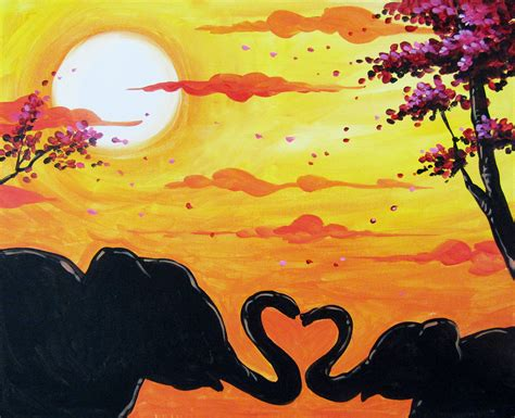paint nite elephant mt palomar 1 8 17 paint nite event