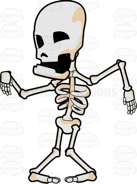 skeleton clipart a skeleton clipart vector
