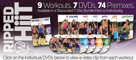 cathe friedrich s ripped with hiit workout dvds