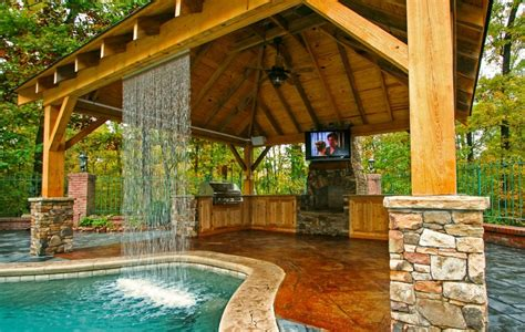 outdoor kitchen pool ideas backyard designs photos with pool and outdoor kitchen