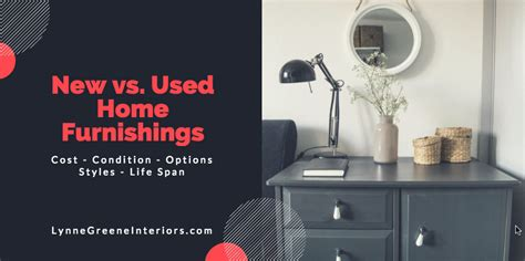 used home decor online buying used vs new home furnishings burlington