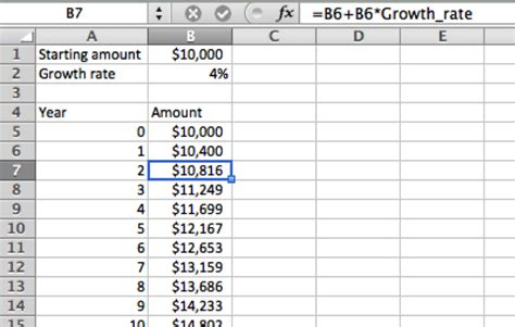 How Do I Do A Spreadsheet by Relative References Take Charge