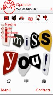 n73 themes love miss you download i miss you nokia theme mobile toones