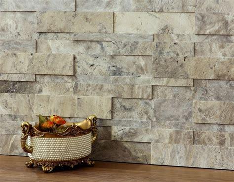 travertine walls 3d natural stone wall cladding silver travertine