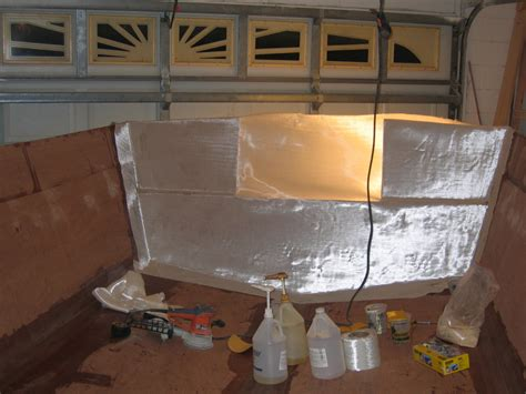 glassing boat transom hull inside fiberglassing stringer filleting