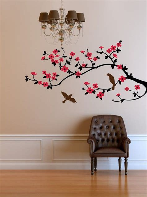 blossom wall stickers wall decal cherry blossom branch wall decal sticker