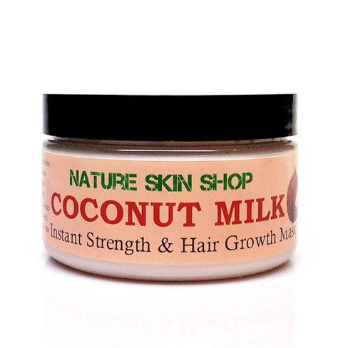 coconut shoo for hair growth coconut milk instant strength hair growth mask