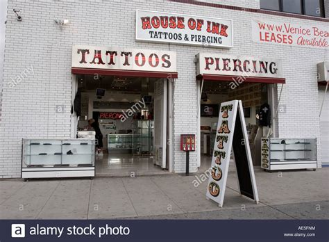 house of ink tattoo venice stock photos venice