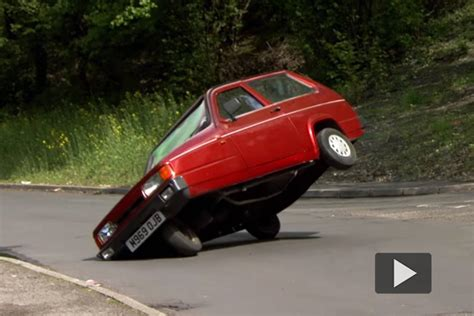 reliant robin clarkson admits rolly pollie reliant robins were