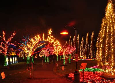 christmas lights coulon park ivar s offers seattle events gift ideas santa photos and lights display this