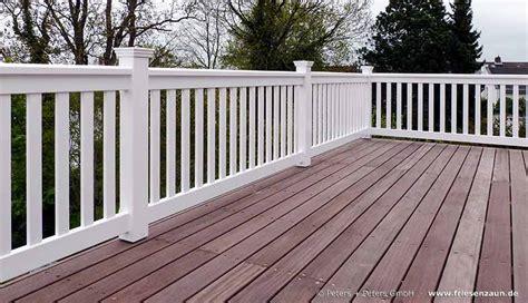 geländer terrasse terrassen sichtschutz hartholz 25 jahre garantie
