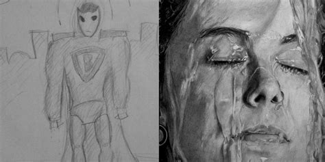 Sketches Real Name by These Amazing Before And After Drawings Show The Real