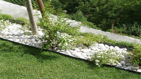 giardino sassi bianchi giardino con sassi bianchi aiuole con sassi bianchi