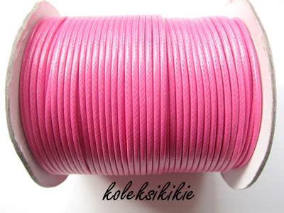 Kalung Tali Pink Etnic Korea tali korea fuschia 2mm koleksikikie
