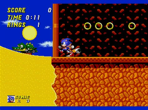 81 revision v1 sonic the hedgehog 2 world rev a hack by hachelle bee v1 81 long version rom