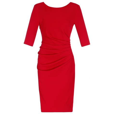Ruched Dresses by Lovarni Ruched Dress Pencil Dresses