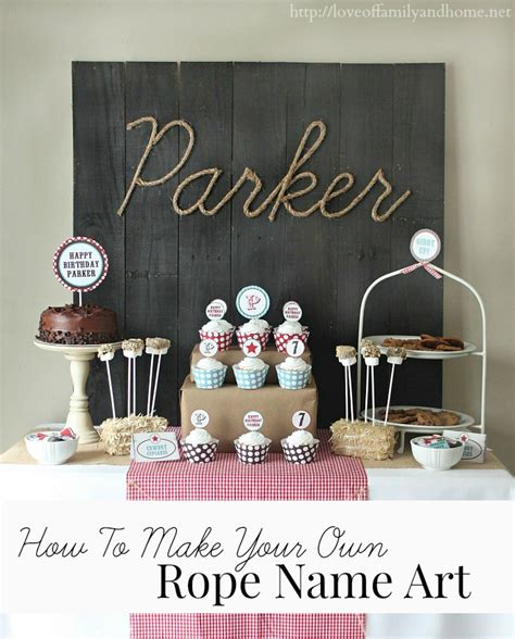 Kitchen Design Country by Cowboy Birthday Party Ideas Parker Turns 7 Love Of