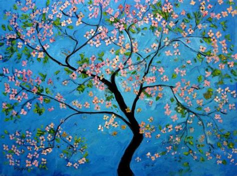 acrylic painting ideas trees paintings for beginners design style guide create easy