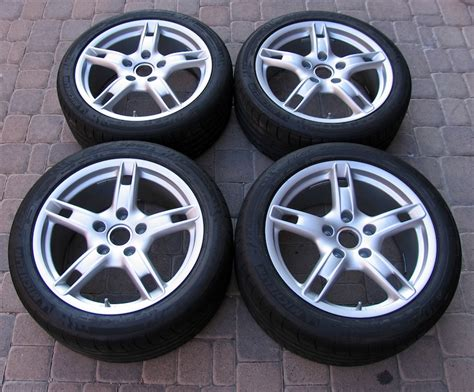 for sale like new 18 quot oem 2007 porsche boxster s wheels