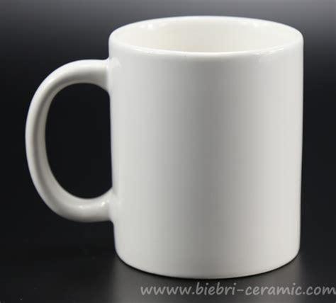 Plain Mug plain white custom design tea coffee ceramic porcelain