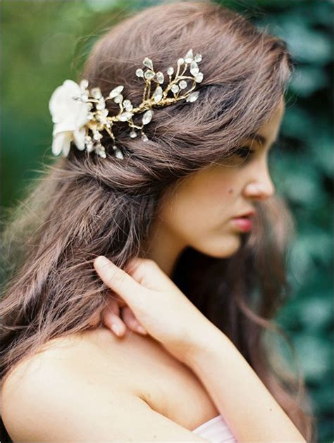 romantic hairstyles down 607 best wedding hairstyles hair accessories images on