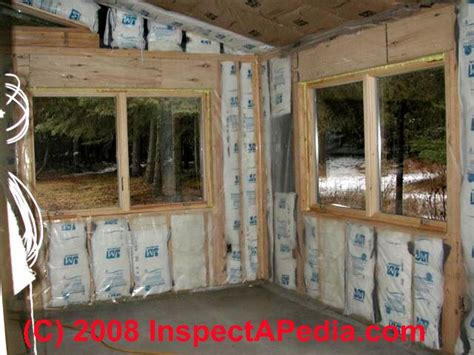 log home insulation insulating value r value heating