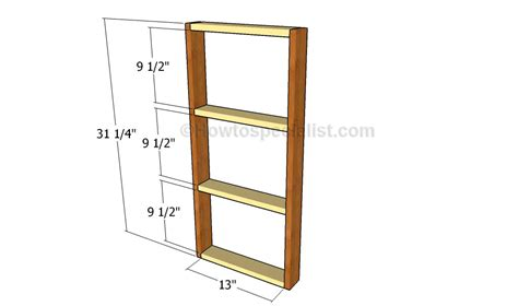 console table plans howtospecialist how to build step diy console table plans howtospecialist how to build
