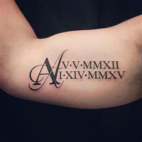 40 tatuajes de n 250 meros romanos diferentes dise 241 os y sus