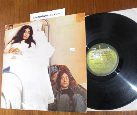 john lennon and yoko ono unfinished music no 1 two john lennon unfinished music no records lps vinyl and