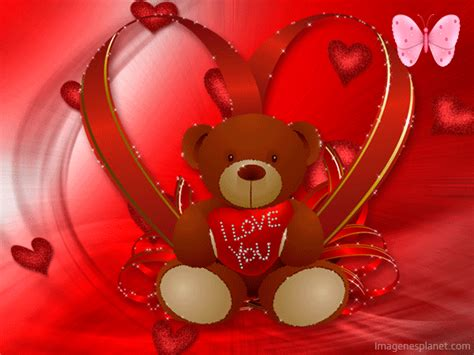 imagenes de i love you my love imagenes animadas tiernas de corazones y osos i love you