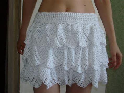tejidos elegantes de crochet faldas y vestidos tejidos a crochet para dama youtube