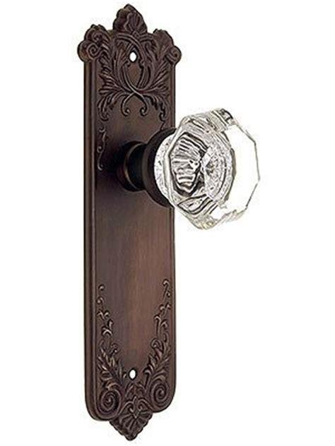 Bronze Glass Door Knobs by Antique Glass Door Knobs Wrought Bronze Lorraine Door Set