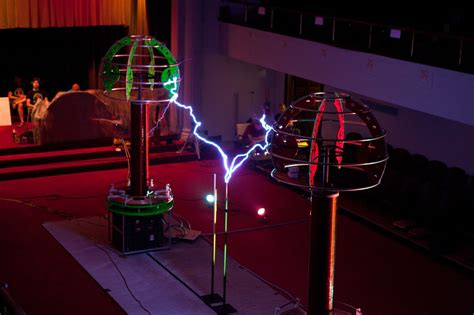 Tesla Coil Uses Tesla Coils Take On Gaga