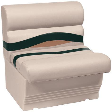 wise bench seat wise 174 premier 1100 series 27 quot pontoon bench seat 222120 pontoon seats at sportsman