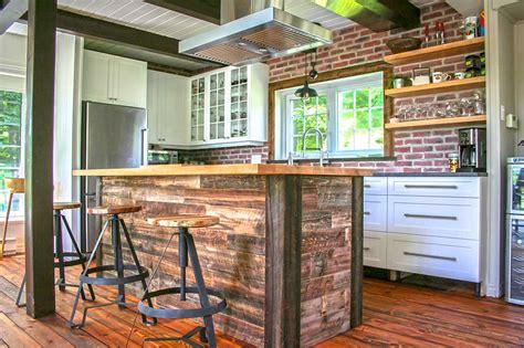 grange cuisine ilot de cuisine en bois de grange mzaol com