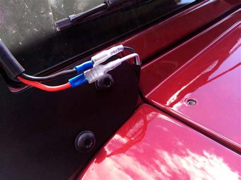 raxiom wrangler jk light bar installation wiring  harness jeepfancom