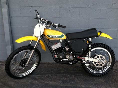 Modified Enduro Bikes by 1973 Suzuki Tm125 Modified For Racing Vintage Dirt