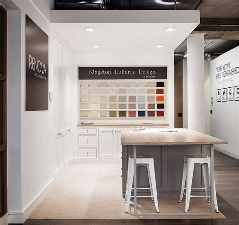 showroom interior design for architectural design firm renova showroom kingston lafferty design