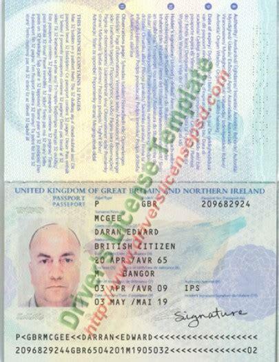 uk passport psd images usseek com