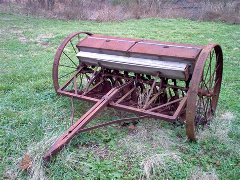 Antique Seed Planter For Sale by Seeder Farm Equipment Times Past