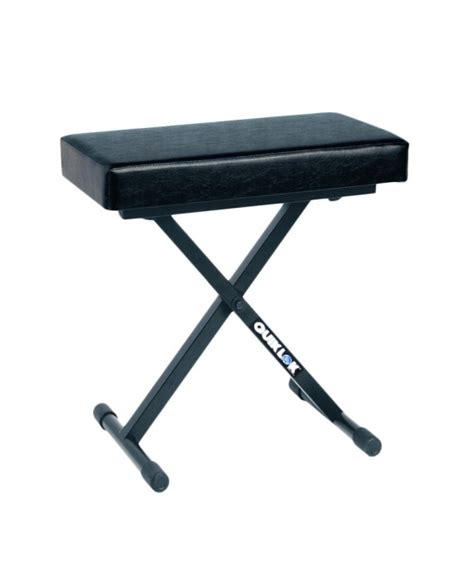 quik lok keyboard bench quik lok bx 718 deluxe line keyboard bench vision one