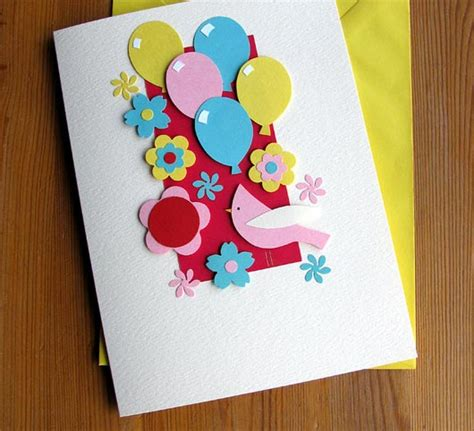Make Handmade Birthday Card - handmade greeting cards weneedfun