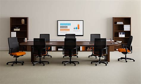 Hon Preside Conference Table Hon Furniture Your Corporate Office For The Future
