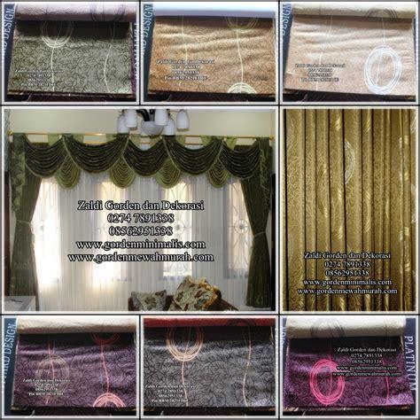 Gorden Casilas Poni Renda Murah gorden jendela rumah cantik murah dan elegan model