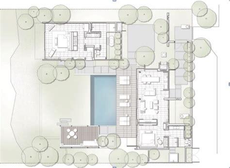 2 bedroom villa floor plans 2 bedroom villa floor plan alila villas koh russey i