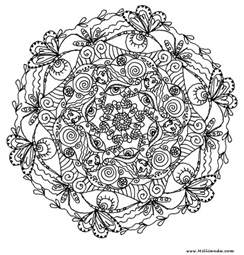 advanced mandala coloring pages printable coloring pages free printable mandala coloring pages for