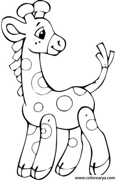 imagenes de jirafas para colorear dibujos colorear jirafa 30 jpg coloring pages